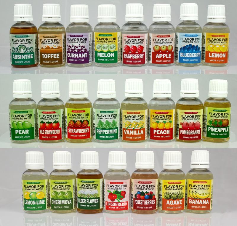 Sparkling Watyer Flavors - Aromhuset